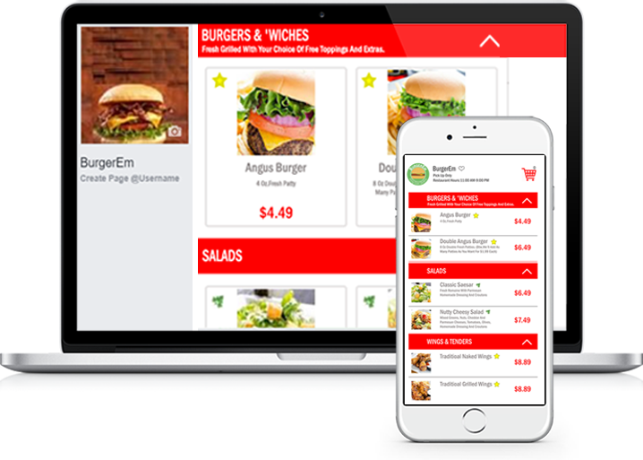 Omni-Channel Digital Menu